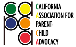 CALIFORNIA ASSOCIATION FOR PARENT-CHILD ADVOCACY Logo